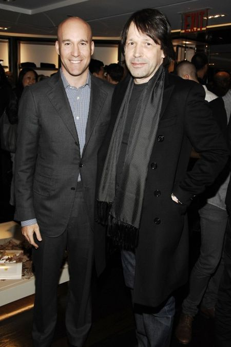 Marc Berger and Peter Saville
