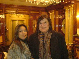 H&M Creative Director Margareta van den Bosch and Me_ 2006